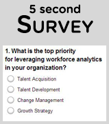 What is the top priority for leveraging workforce analytics in your organization?