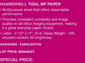Tidal MP Paper