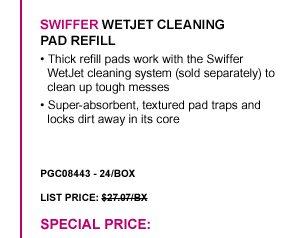 WetJet Cleaning Pad Refill