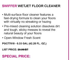 WetJet Floor Cleaner