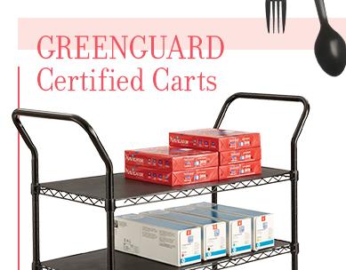 3-Shelf Wire Utility Cart