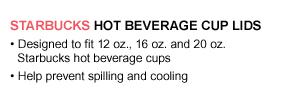 Hot Beverage Cup Lids