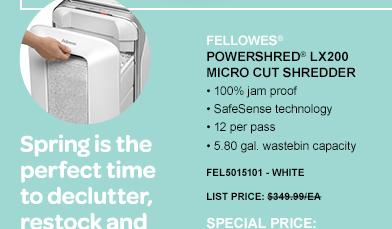 Powershred® LX200 Micro Cut Shredder