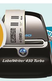 LabelWriter 450 Turbo Direct Thermal Printer