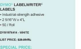 LabelWriter Labels